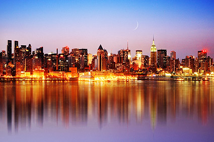 Midtown Manhattan Skyline New York City Photo Print