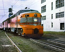 Milwaukee Road Erie-Built #6 Cab Train Photo Print for Sale