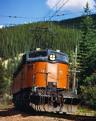 Milwaukee Road 'Little Joe' Train Photo Print