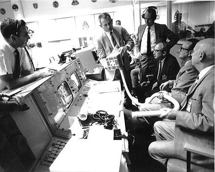 Mission Control During Apollo 13 Crisis Photo Print