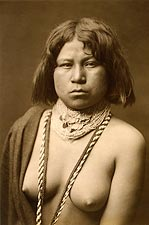 Mohave Indian Edward S. Curtis Portrait Photo Print for Sale