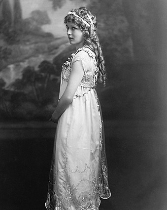 Motion Picture Star Mary Pickford Portrait Photo Print