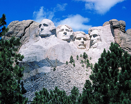 Mount Rushmore Memorial in South Dakota Photo Print
