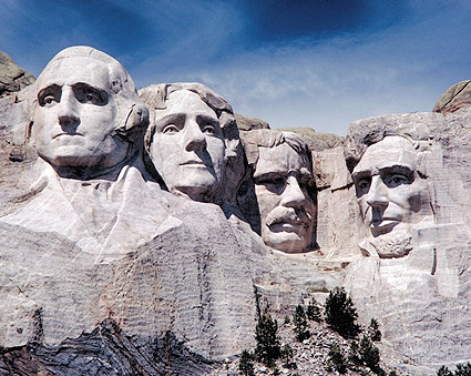 Mount Rushmore Memorial, South Dakota Photo Print
