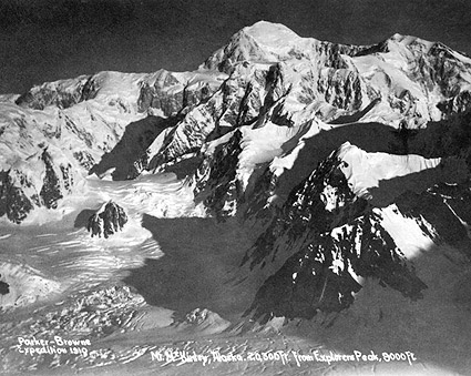 Mt. McKinley Parker-Browne Expedition 1910 Photo Print
