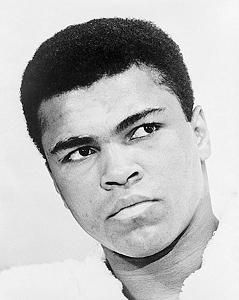 Muhammad Ali Portrait 1967 Photo Print
