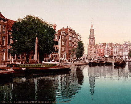Munttoren De Munt / Mint Tower Amsterdam Photo Print