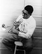 Musician Dizzy Gillespie Portrait Photo Print for Sale