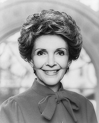 Nancy Reagan Official First Lady Photo Print