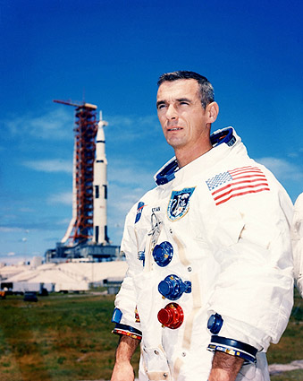 NASA Apollo 10 Astronaut Eugene A. Cernan Photo Print
