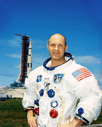 NASA Apollo 10 Commander Thomas P. Stafford Photo Print