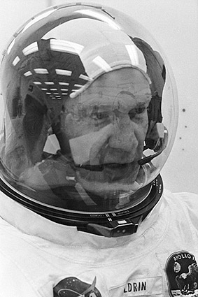 NASA Apollo 11 Buzz Aldrin in Suit Before Launch Photo Print
