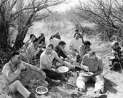 NASA Apollo 13 Crew Luncheon Field Trip Photo Print