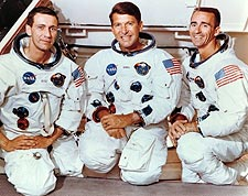 Apollo 7 Schirra, Eisele & Cunningham NASA  Photo Print for Sale