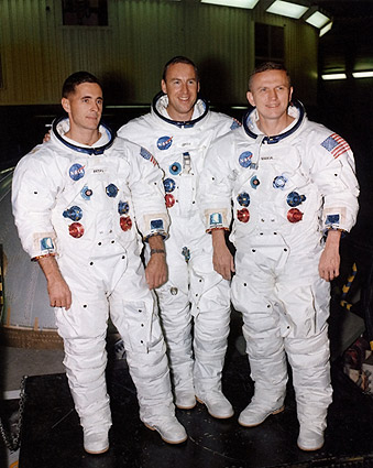 NASA Apollo 8 Astronauts Borman, Lovell & Anders Photo Print