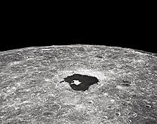 NASA Apollo 8 Lunar Crater Tsiolkovsky Photo Print for Sale