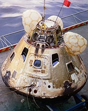 NASA Apollo 8 Command Module Recovery USS Yorktown Photo Print for Sale