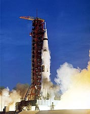 NASA Apollo 8 Spacecraft Launch Sequence Photo Print for Sale
