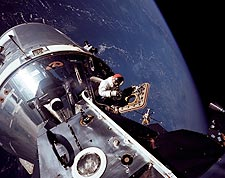 Apollo 9 Astronaut David Scott EVA NASA  Photo Print for Sale