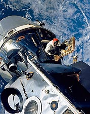 NASA Apollo 9 Astronaut David Scott EVA Photo Print for Sale