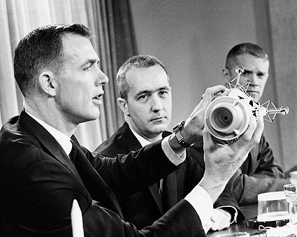 NASA Apollo 9 Flight Crew Press Conference Photo Print