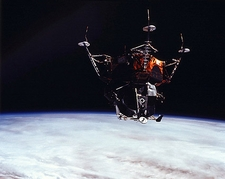 NASA Apollo 9 Lunar Module 'Spider' in Earth Orbit  Photo Print