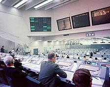 NASA Apollo 9 Mission Control Center Photo Print for Sale