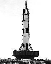 Apollo 9 Saturn V Rocket Rollout NASA Photo Print for Sale