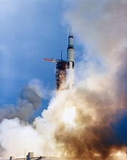 NASA Apollo 9 Spacecraft Liftoff Sequence Photo Print