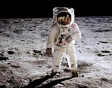 NASA Astronaut Buzz Aldrin EVA Apollo 11 Photo Print for Sale