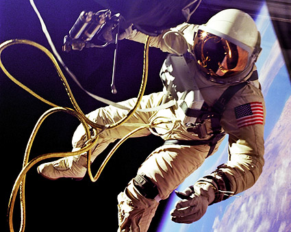 NASA Astronaut Ed White First American Space Walk Photo Print