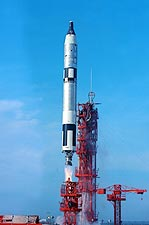 NASA Gemini 6 Launch  Photo Print for Sale