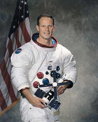NASA Jack Lousma Portrait Skylab 3 WSS Photo Print