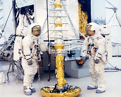NASA Jim Lovell & Fred Haise Lunar Module Photo Print