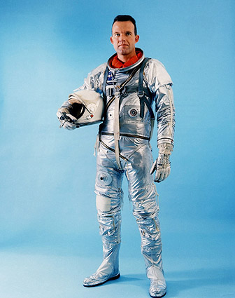 NASA Mercury 9 Astronaut Gordon Cooper Portrait Photo Print