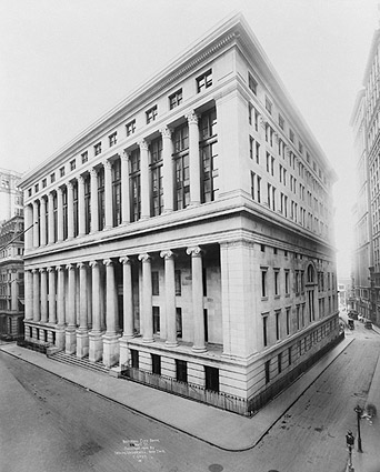 National City Bank, New York City 1909 Photo Print