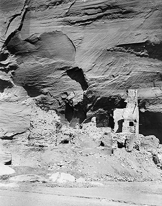 Navajo Cliff Dwelling Edward S. Curtis 1907 Photo Print