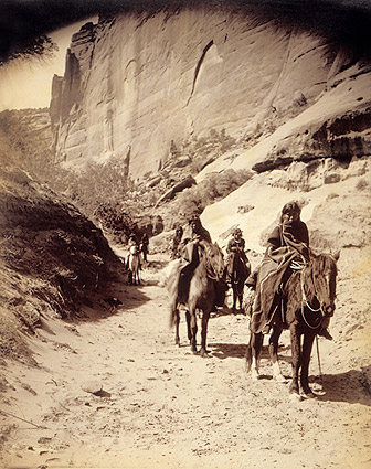 Navajo Indian Band Edward S. Curtis 1904 Photo Print
