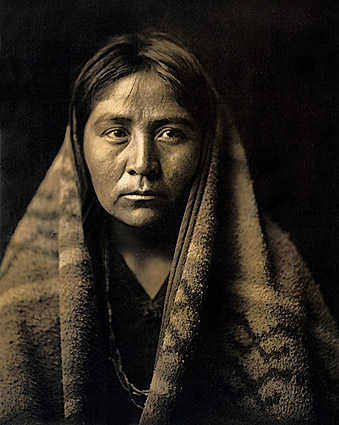 Navajo Indian Edward S. Curtis Portrait 1904 Photo Print