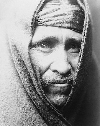 Navajo Indian Edward S. Curtis Portrait 1905 Photo Print
