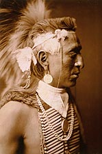 Navajo Native American Edward S. Curtis Photo Print for Sale