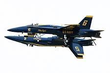 Navy Blue Angels Demonstration Maneuver Photo Print for Sale