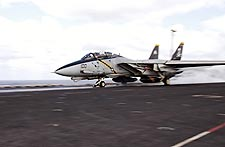 Navy F-14 'Jolly Rogers' VF-103 Catapult Photo Print for Sale