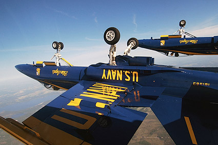 Navy F-18 Blue Angels Diamond Dirty Loop Photo Print