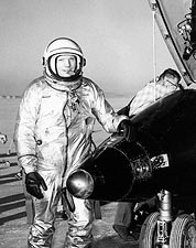 Neil Armstrong & X-15 Test Plane NASA Photo Print for Sale