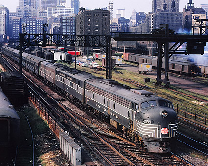 New England States' E-8 E-7A New York Central Railroad Photo Print