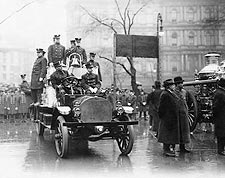 New York City 1913 Firefighters Fire Truck Photo Print for Sale
