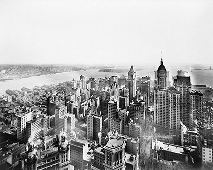 New York City Aerial View 1913 Irving Underhill Photo Print