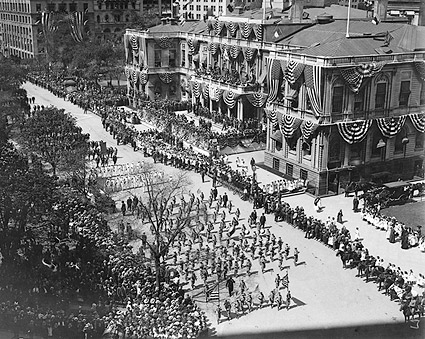 New York City Hall Olympic Athletes Parade Photo Print