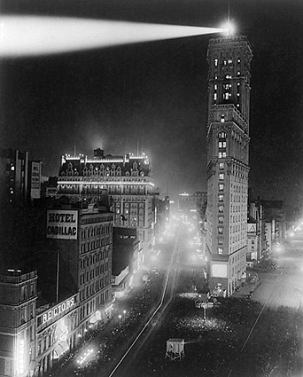 New York City Times Square New Years 1908 Photo Print